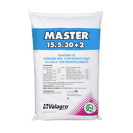Минеральное удобрение Мастер 15+5+30 Valagro от 10 кг, Фасовка: Проф упаковка 10 кг