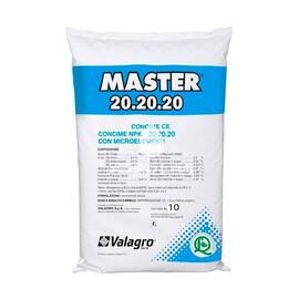Минеральное удобрение Мастер 20+20+20 Valagro от 10 кг, Фасовка: Проф упаковка 10 кг