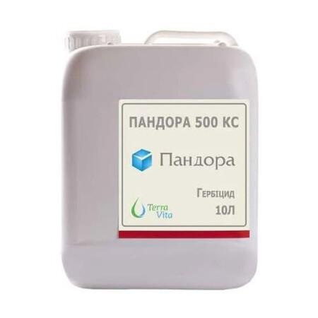 Гербицид Пандора 500 КС/Дабл Файт 500 КС Terra Vita 10 л, Фасовка: Канистра 10 л